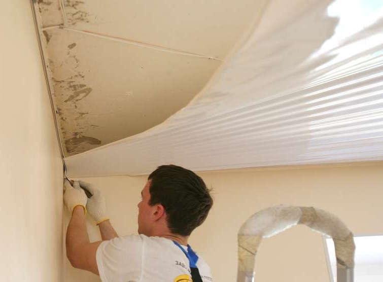 Как сделать ремонт потолка на кухне своими руками