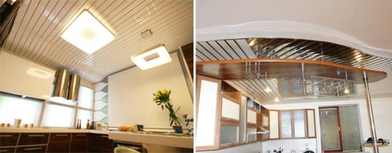 Дизайнерская вариативность позволяет выбрать рейки подходящие под любой кухонный интерьер