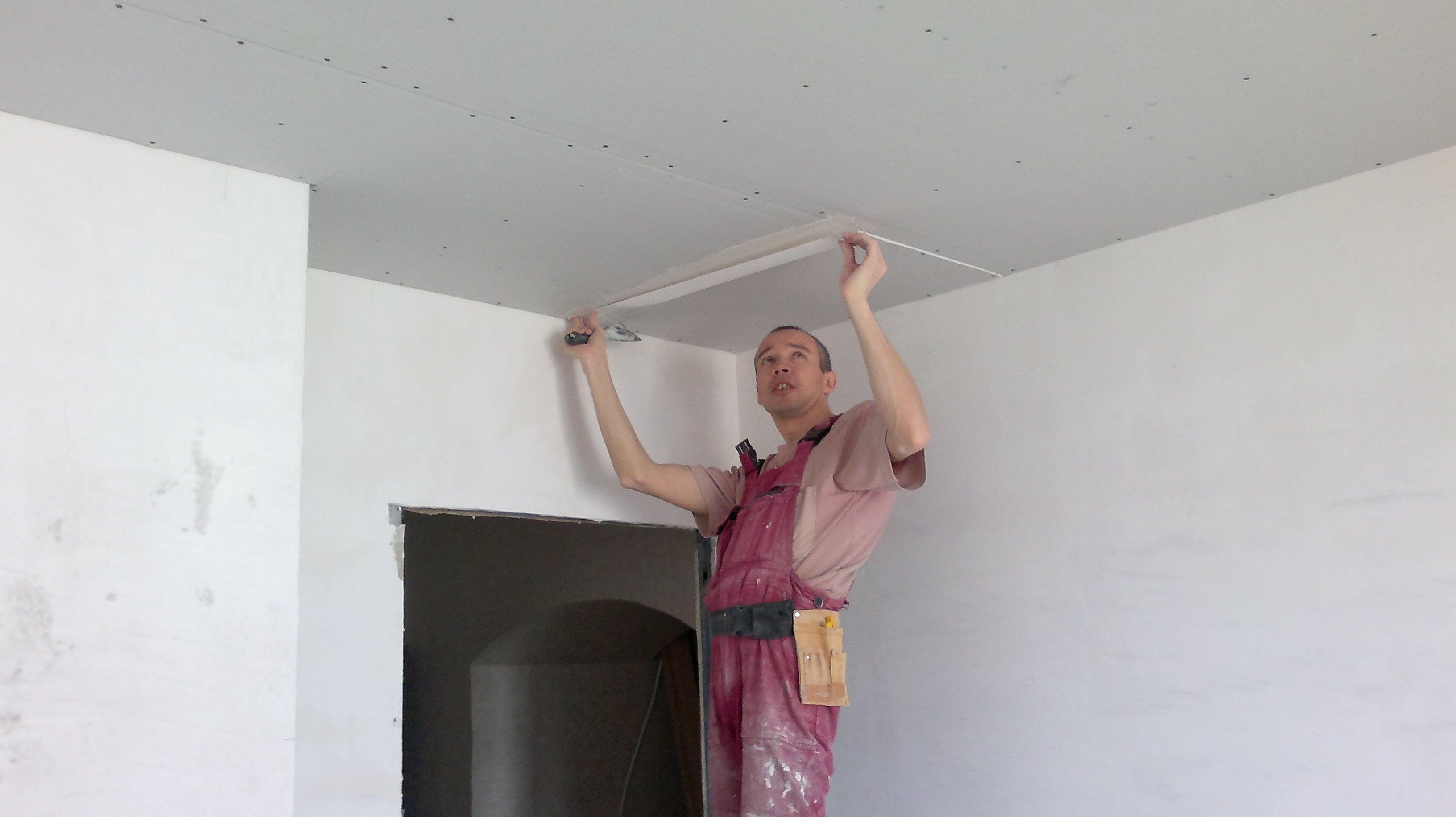 Финишная отделка потолка своими руками 24