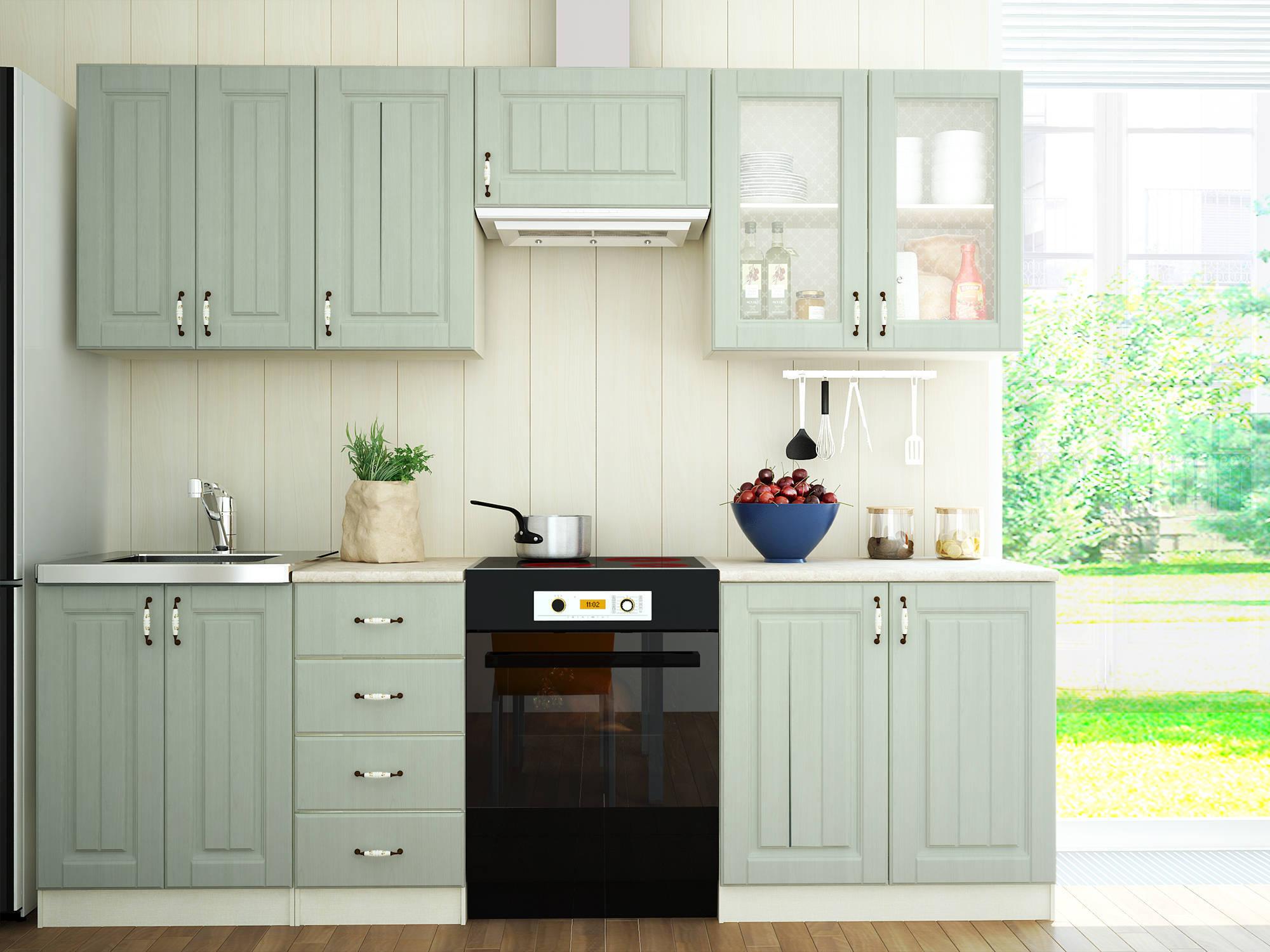 Кухни эконом-класса - особенности недорогой мебели картинки