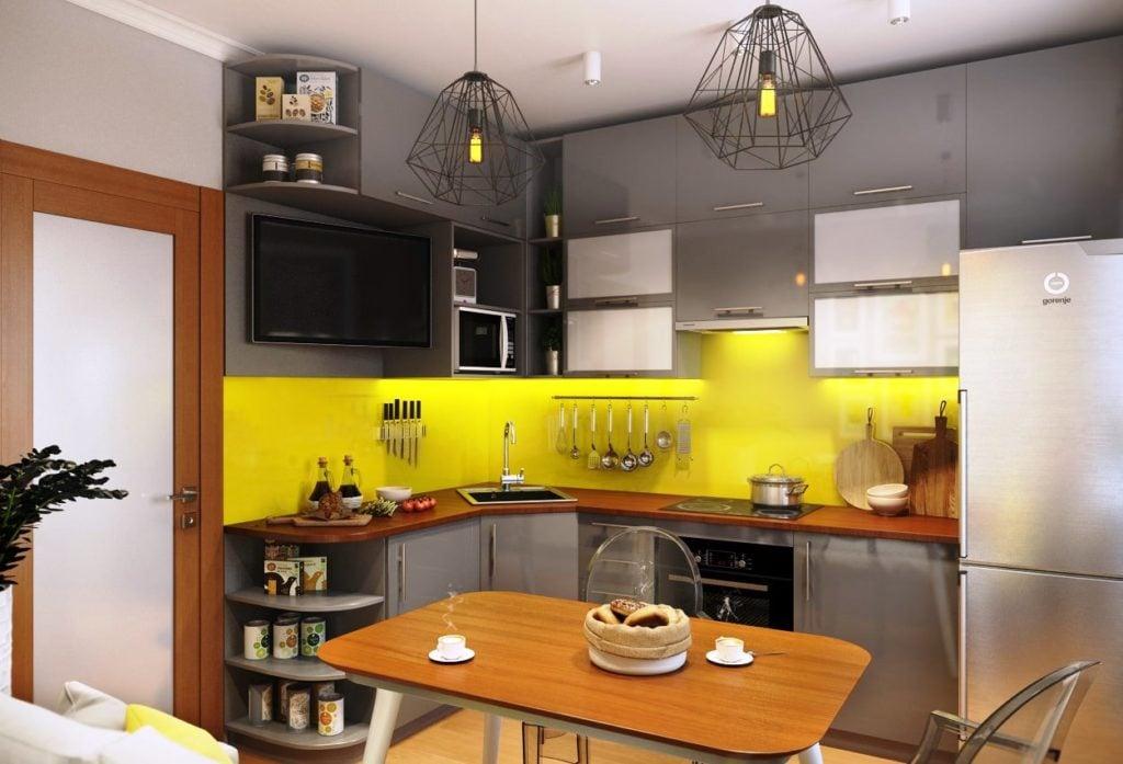 Серая кухня в интерьере - варианты сочетания и оформление дизайна