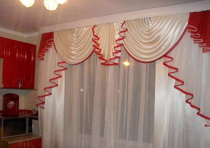 Какие шторы повесить на кухню - красивые модели в оформлении дизайна