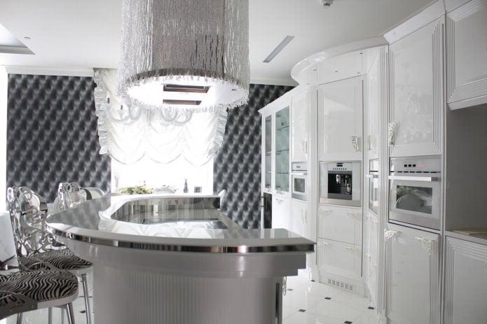 Дизайн белой кухни - достоинства и недостатки советы дизайнеров