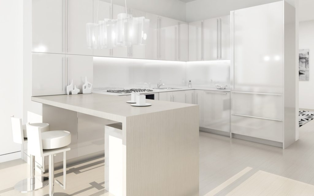 Необходимо регулярно поддерживать чистоту, поскольку грязь на белой мебели легко заметить