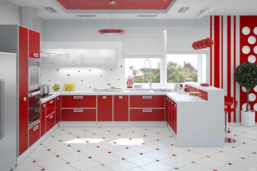 Акриловый кухонный фасад