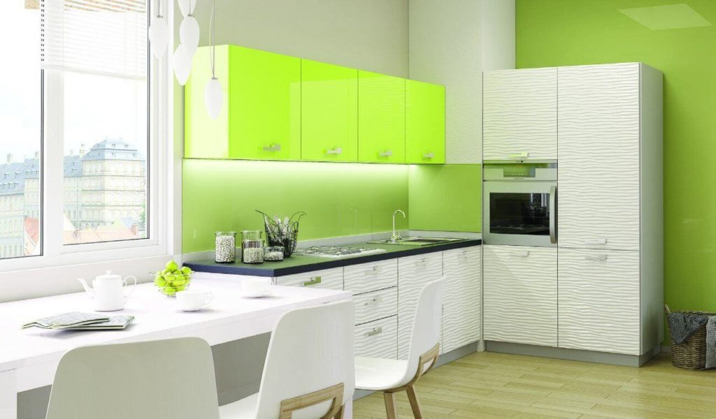 В кухонном интерьере можно применять любые существующие оттенки