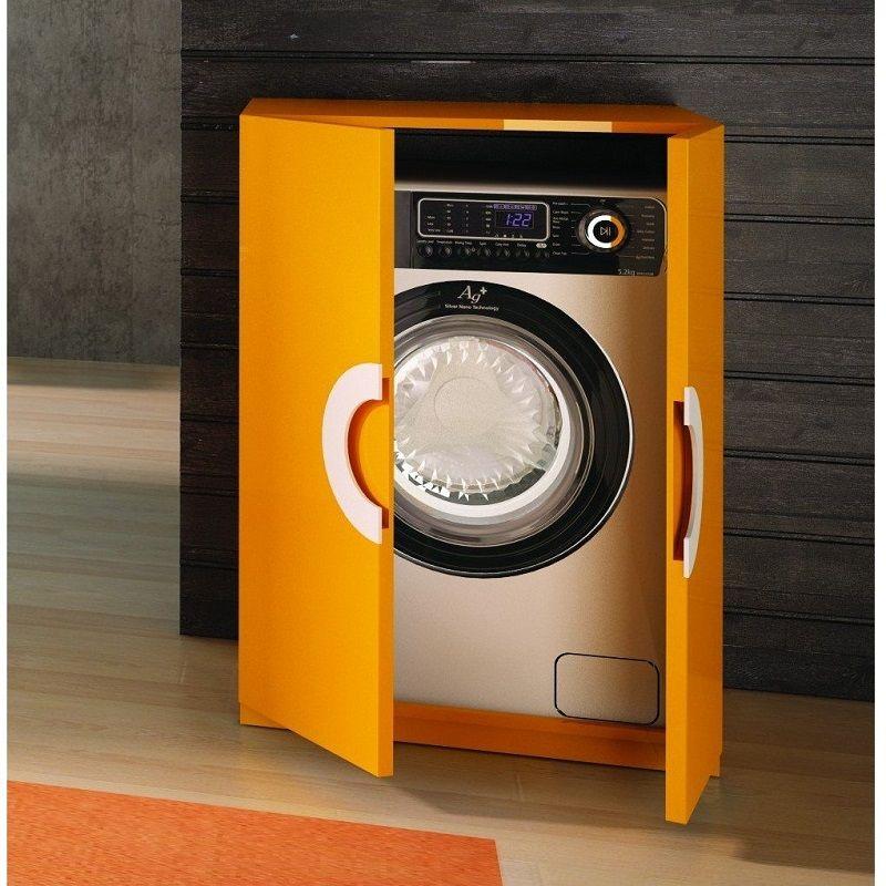 Как встроить стиральную машину в кухонный гарнитур - варианты установки