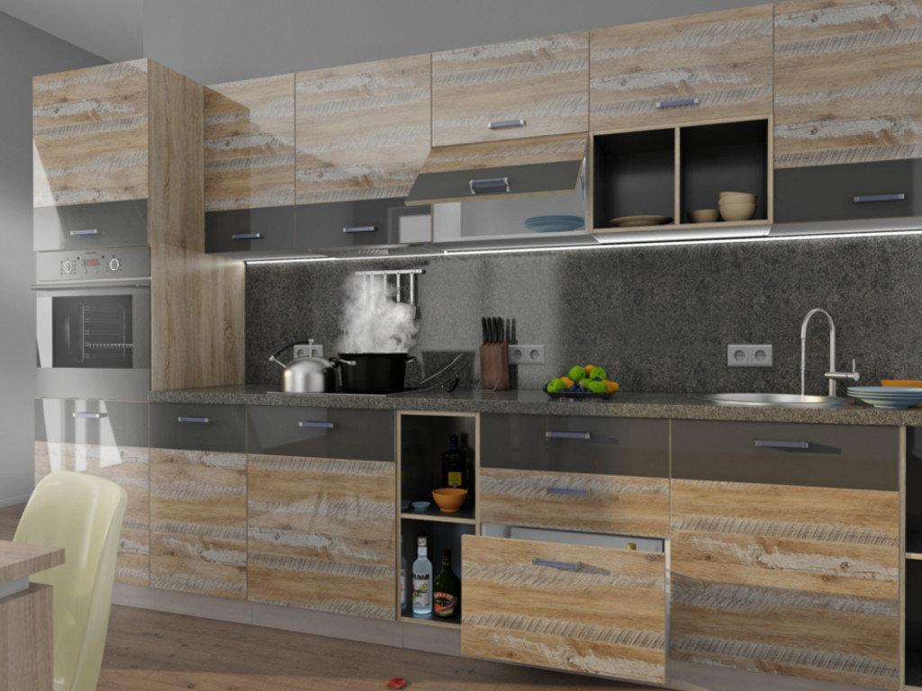 Кухня в стиле лофт - детальный дизайн и идеи интерьера