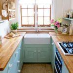 П- образный кухонный гарнитур