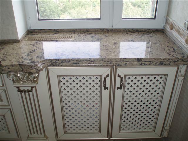 Решетчатый фасад для радиатора