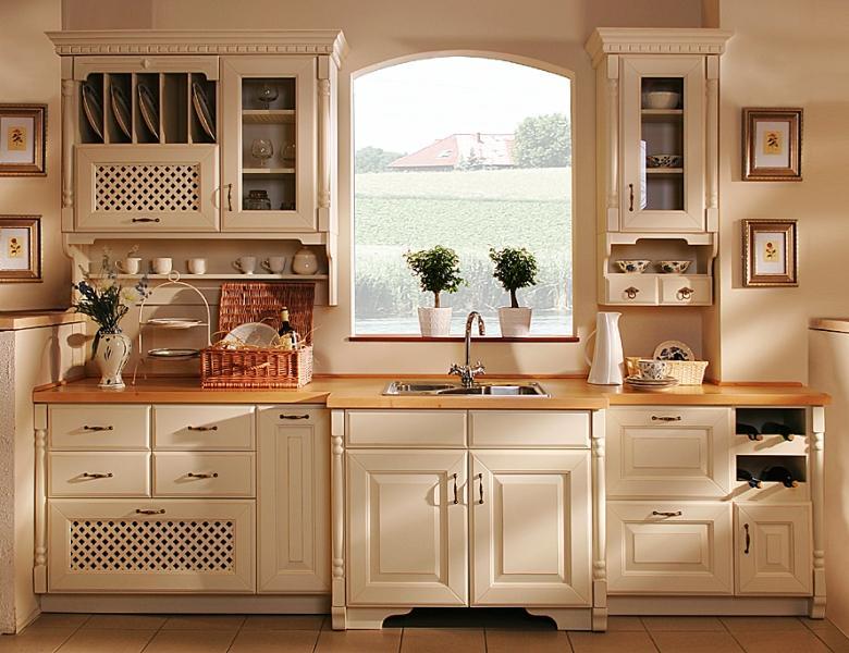 Кухня выполненная в стиле прованс