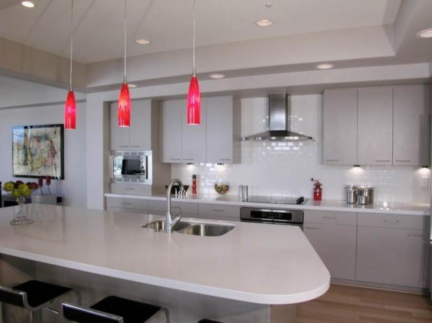 Освещение на кухне: идеи и принципы дизайна