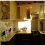 Кухня 6 кв м в классическом стиле