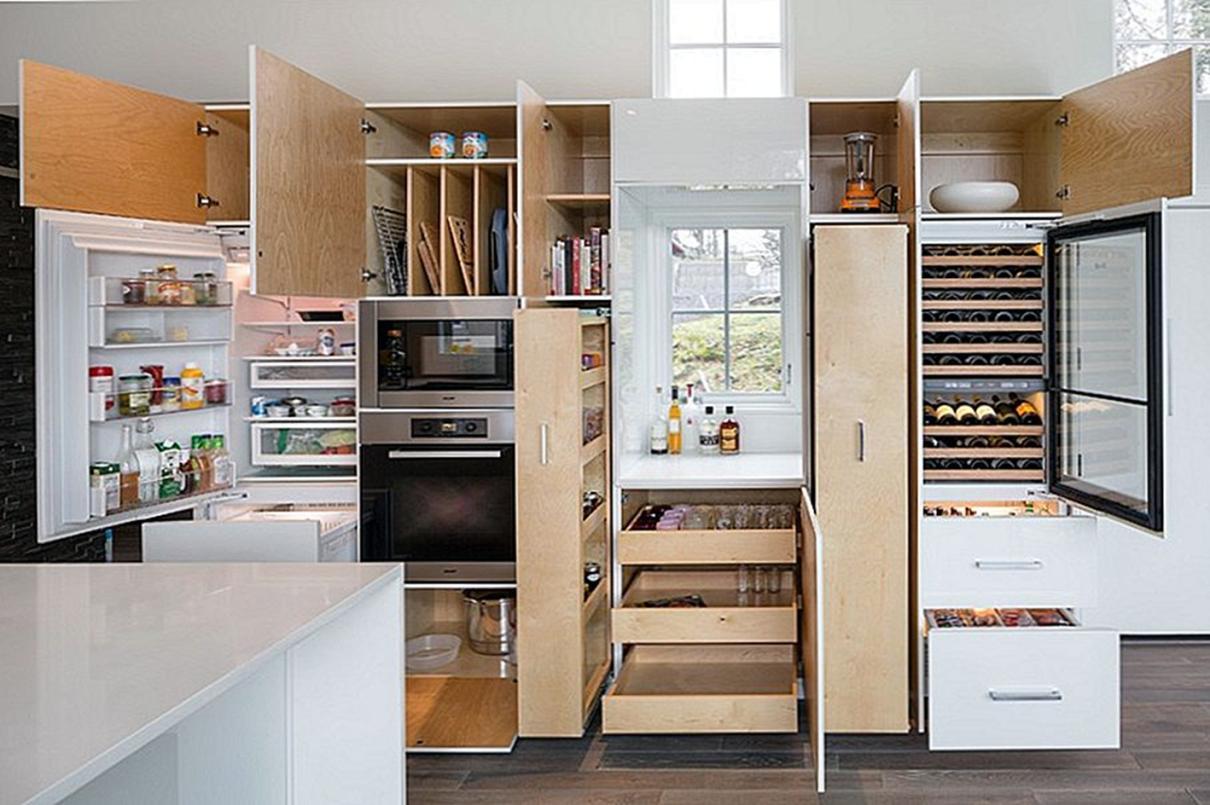 функциональные кухни в картинках тренажёры, универсальные триммеры