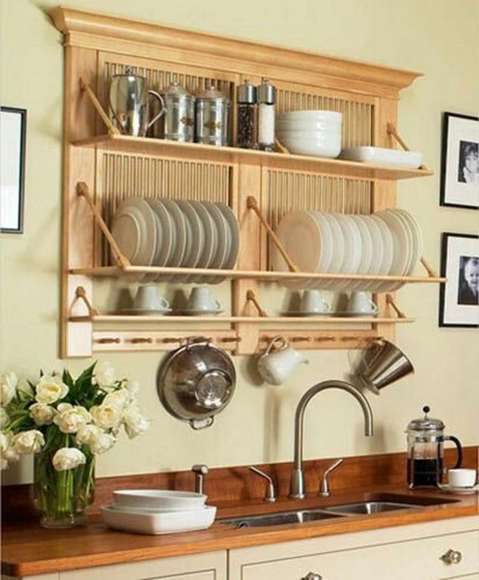 Полка-кармашек для хранения посуды
