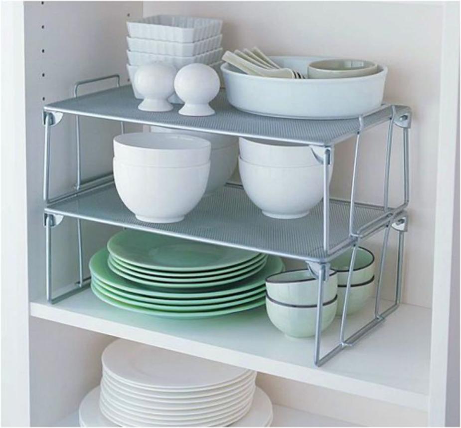 Этажерки для хранения посуды
