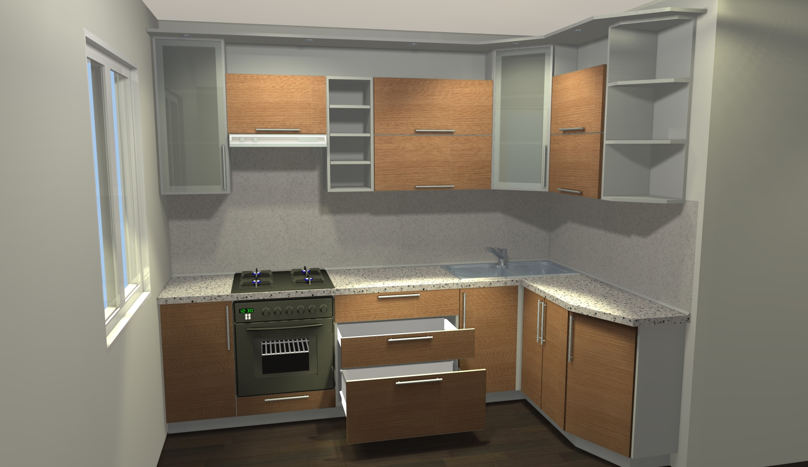 Как установить кухонный гарнитур своими руками - пошаговая схема действий
