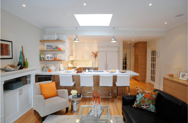 Дизайн кухни с островом - от размеров до сочетания цветов и выбора планировки гарнитура
