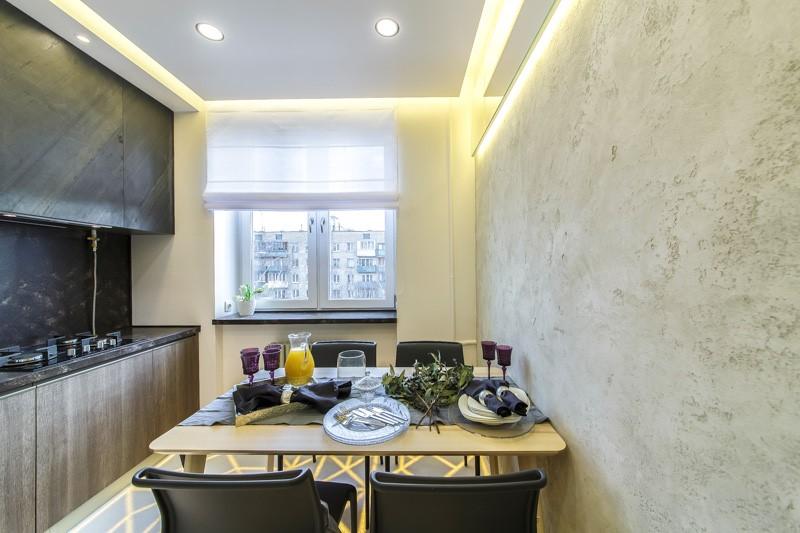 Можно ли использовать жидкие обои для стен кухни - оформление интерьера