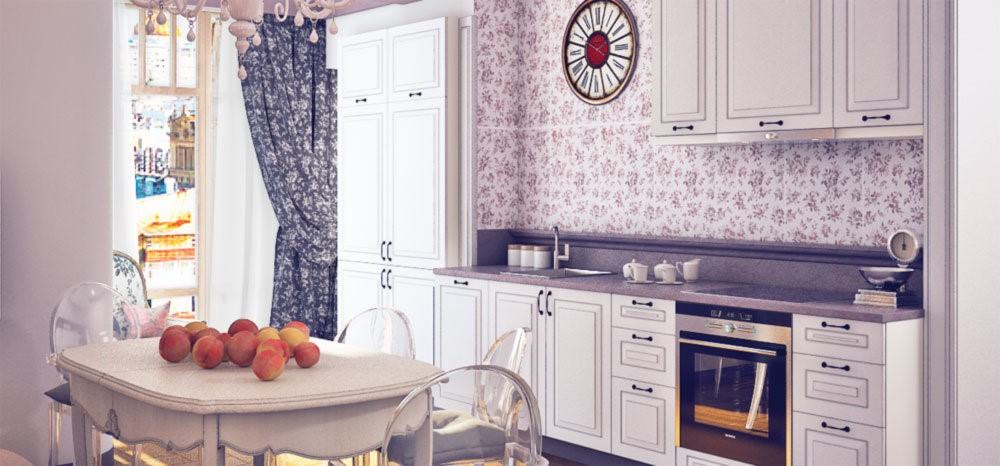Какой цвет выбрать для кухни - лучшие расцветки гарнитура