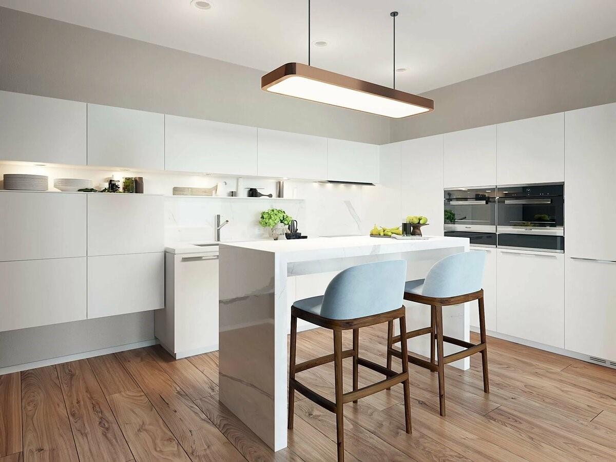 Кухня с барной стойкой - 7 идей оформления дизайна