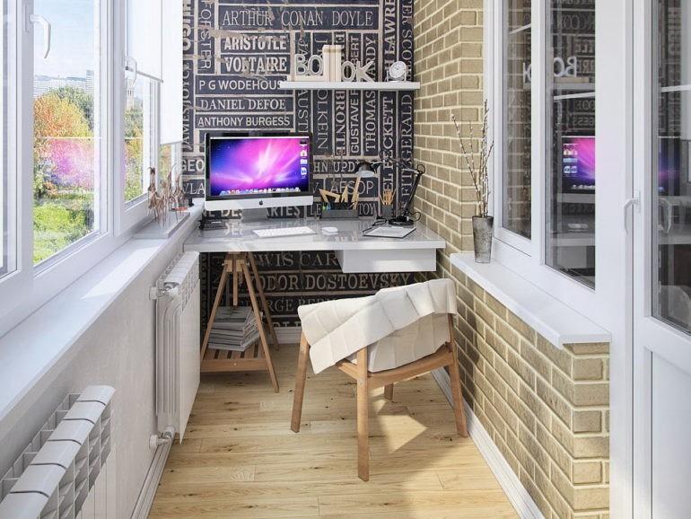 Кухня совмещенная с балконом - 6 идей оборудования лоджии