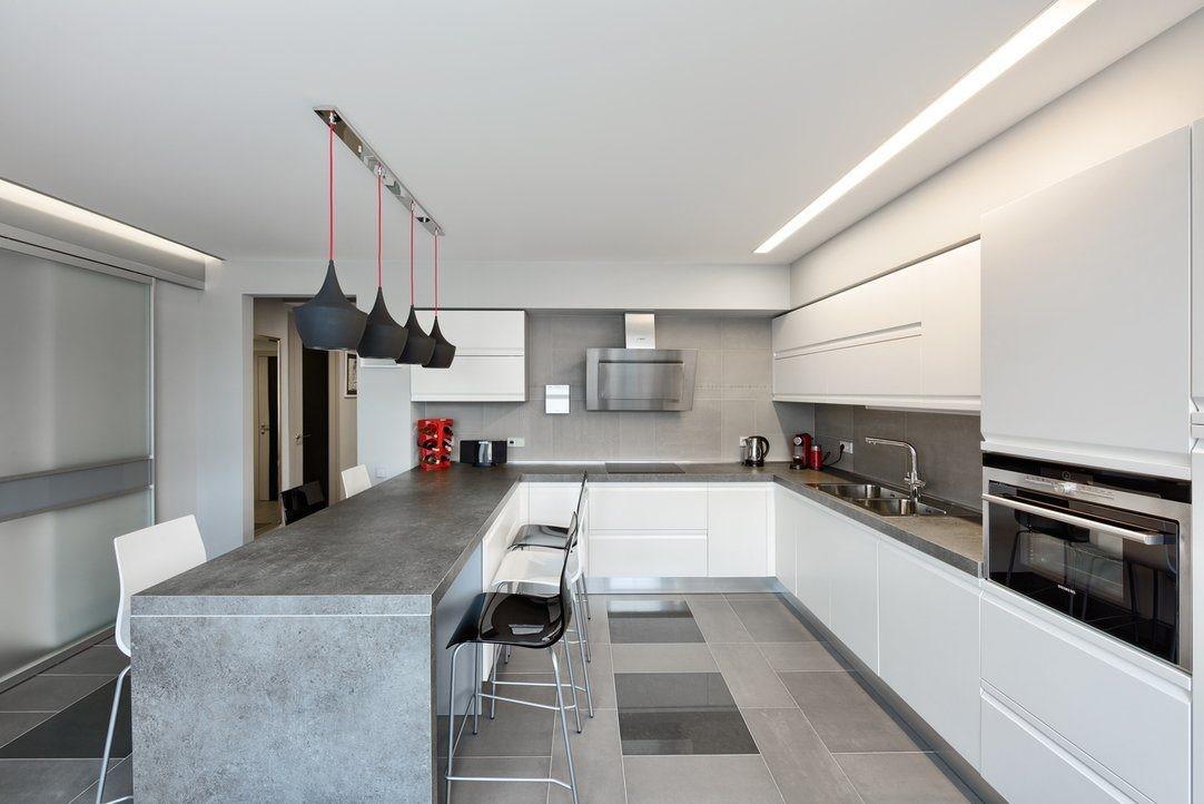 Дизайн кухни в стиле минимализм - готовые решения интерьеров