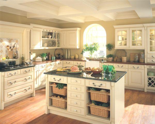 Дизайн кухни в итальянском деревенском стиле