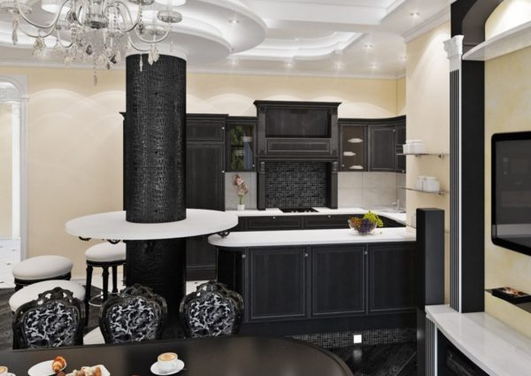 Стиль арт-деко в интерьере кухни - варианты для оформления