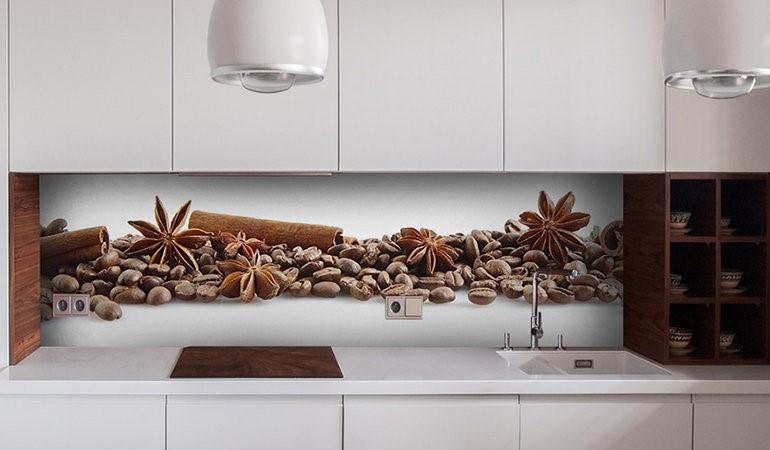 Фартук для кухни из стекла - какое выбрать и как декорировать