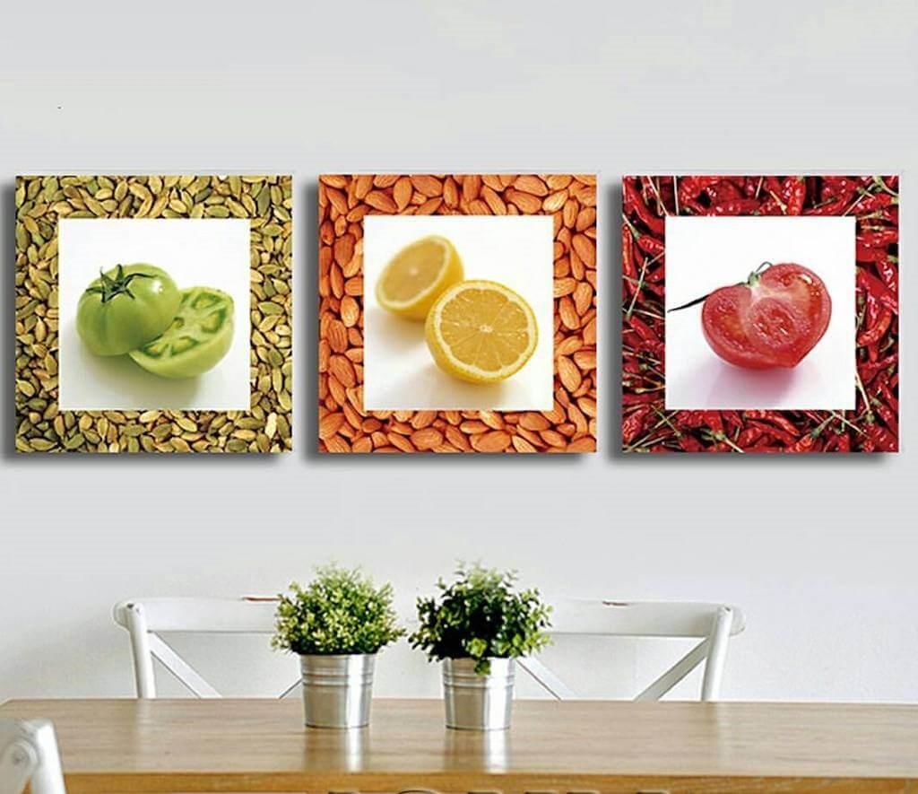 Как оформить стену на кухне - варианты дизайна в современном стиле