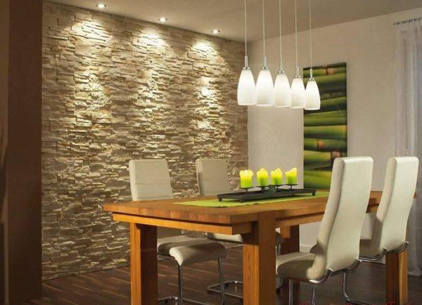 Как оформить стену на кухне - варианты декора и интерьеров