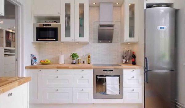 Оформление интерьера кухни 9 кв м - различные планировки и отделка
