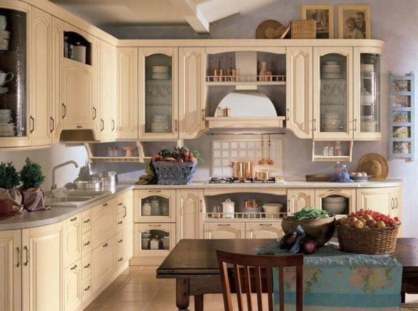 Стиль прованс в интерьере кухни - идеи оформления в частном доме и квартире
