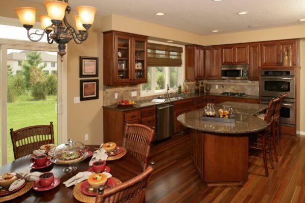 Правила выбора расположения кухня по фэн- шуй - подбор цветовой гаммы