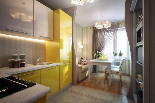 Кухня 12 кв метров - варианты интерьера с разными планировками