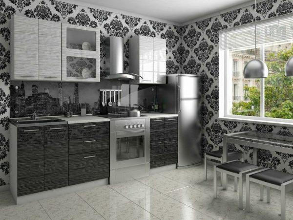 Водостойкие обои для стен кухни - как клеить и мыть