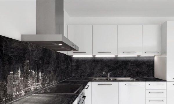 Кухонный фартук из МДФ панелей - варианты дизайна достоинства и недостатки