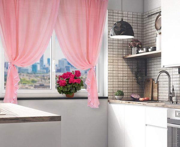 Какие шторы выбрать для маленькой кухни - современные варианты оформления интерьера