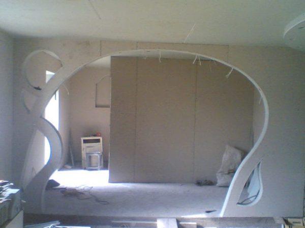 Как оформить и сделать арку вместо двери своими руками