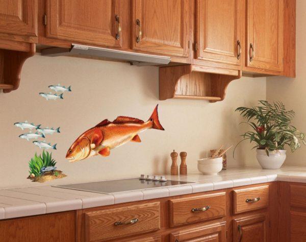Как сделать кухню уютной - оформление дизайн интерьера своими руками