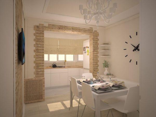 Дизайн кухни - студии: современный интерьер в квартире