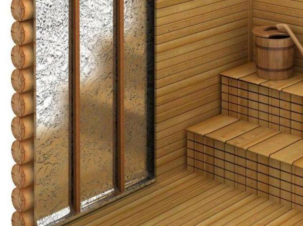 Утепление стен в бане