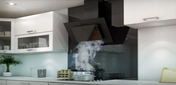 Как установить наклонную вытяжку на кухне - правила монтажа и подключения
