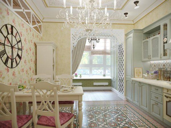 Дизайн кухни в пастельных тонах - как оформит и добавить ярких акцентов