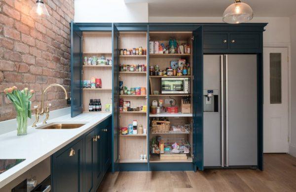 Как обыграть нишу в стене на кухне - оформление дизайна