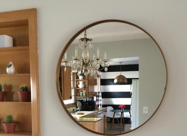 Варианты использования зеркала в интерьере кухни - идеи дизайна и расположения