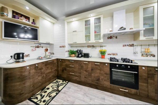 Как обыграть вентиляционный короб на кухне -  идеи для дизайна