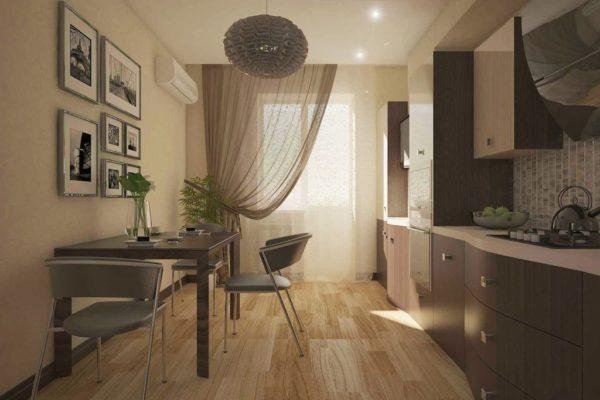 Как красиво повесить тюль на кухне и какой дизайн выбрать