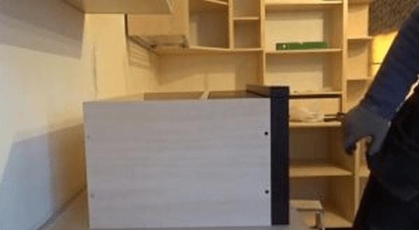 Как встроить вытяжку в кухонный шкаф своими руками - схема установки